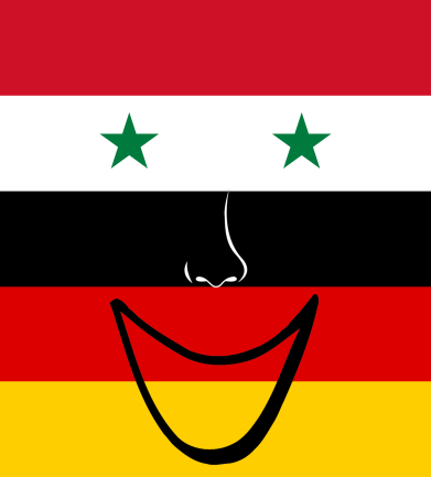 German Syrian Flag